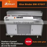 20 year manufacturer Boway New 976V7 perfect glue auto clmaping book printing plant bind machine