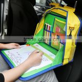 Backseat Car Organizer,Kids Play Tray for Snacks Car Bus Train and Plane Journeys,Travel Used
