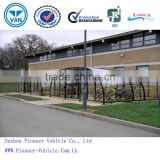 2014 best sold outdoor bike storage shed/bike shelter/ bicycle carport(ISO,TUV,SGS approved)