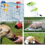 Top Quality!!! Pet Dog Water Drinker Dispenser Food Stand Delue Feeder Dish Bowl Bottle Feeding Top-Fill Water Bottle Drinker