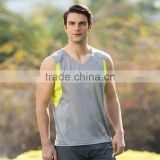 Men's Sport jersey fitness t-shirt quick-dry running sleeveless vest Sleeveless Basketball Jersey