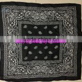 silk printed ribbon embroidered handkerchief
