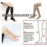 Knee High Medical Pregnancy Compression Stockings With Open Toe