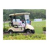 Two Seat Golf Electric Cart 3 KW KDS Motor , Battery Operated Golf Buggies 48V