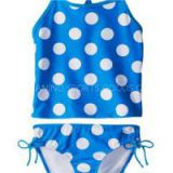 Girls\' Beachball Tankini Swimsuit Set