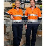 European standard High quality blue wear rough safety workwear for mining