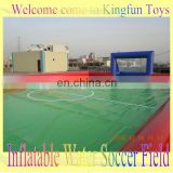 Air sealed inflatable water football/soccer pool