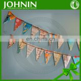 Fashional Customized Beautiful Hot Sale Triangle Flags Bunting