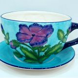 2017 sale top ceramic flower pot and saucer planter