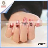 water transfer high quality 3D nail art stickers