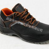 New fashionable genuine leather safety boots safety shoes with steel toe