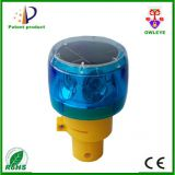 Rechargeable Warning Light,Yellow Beacon Light,Small Solar Flashing Light
