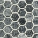 most popular bardiglio hexagon mosaic