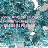 raw material crushed tempered reflective glass