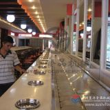 Sushi belt conveyor good price chain conveyor belt