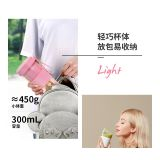 300ml 80W electrical USB charging glass juicer cup personal blender SUS304 blades slow Juicer vegetable extractor