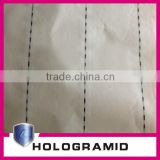 A4 banknote cotton security thread watermark paper with visible/invisible fibers