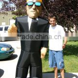 Hot sell inflatable character custume for decoration