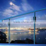 6.38mm Tempered Laminated Balustrade handrail Railing Building Construction Glass Panels