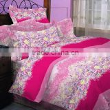 Luxury printing branded print quilt cover set bedding set bed sheet set