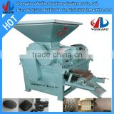 New Latest Technology Coconut Charcoal Briquette Machine price/ Customized Coconut Charcoal briquette machine