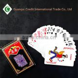 Alibaba China wholesale customized design Top quality 63*87mm paper playing cards for Advertising