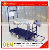 Alibaba china supplier trolley cart hand trolley / supermarket trolley / fruit carts