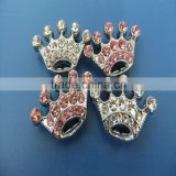Compet Wholesale DIY 10mm Slide Crown Charms for Bracelet and Pet Collars