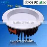2015 Hot Sales Best Quality high-end 20W led cob down lights LED DownLight for Lighting projects