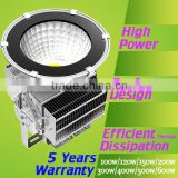 CE ROHS cree 400w 500w Meanwell driver high quality pure white 5700K outdoor led heavy duty flood lighting WITH 5 years warranty