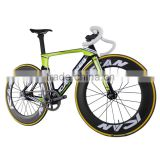 2016 carbon complete track bike carbon bicycle track frame 88mm clincher wheelset total weight 6.98KG