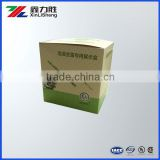 Display box for 8 bottles, counter paper display box with dot line, customize paper display box