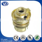 B22 copper metal lamp holder socket