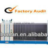 automatic double glass machine line, auto aluminum trough insulating glass flat-pressing production line