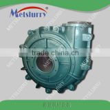 High capacity 4x3 &3'' rubber lined mining horizontal slurry pump for mining processing