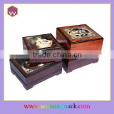 High quality wholesale music box hand crank music box