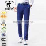 wholesale autumn summer boys new model design Custom fitted simple outdoor linen cotton casual long man trousers chino pants