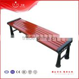 outdoor street garden bench wooden slats