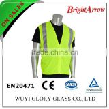 ENISO 20471 Standard cheap reflective blue Polyester safety vest