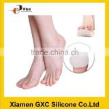 Rubber siliocne pedicure slipper and toe separator