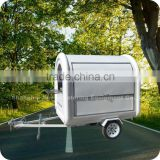 2013 European Style Fiberglass Food Cart Kiosk Trailer for Ice Cream Frozen Yogurt XR-FC220 B