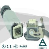 HB series Industrial plug socket4 pin connector with bulkhead waterproof automotive connector