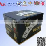 Black Color Beer Packaging Box