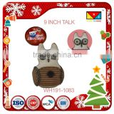 New designs funny country style gift and owl dolls lucky party christmas ornaments craft