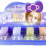 Baby cute doll fruity&floral Cologne, GMPC and ISO227 certificates, SGStesting report