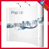 custom foldable velcro backdrop spring trade show pop up display stands