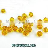 Wholesale Fashion Different Colors Bling Glass Bicones Crystal Bead PMC-CB001