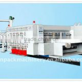 Corrugated Carton Box Flexo Printing Slotting and Die-cutting Machine