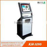 Touch screen SIM card vending kiosk Phone card vending machine cinema ticket vending machine