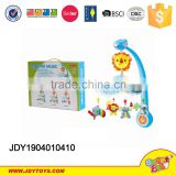 Battery Operated Baby Bed Bell Toy 618A-7A New Product Plastic Baby Mobile Bell Toys Baby Bed Bell Toys with Music